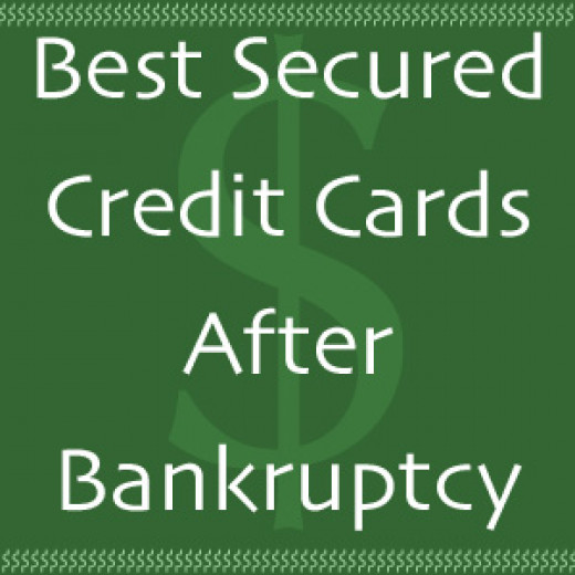 A secured credit card is a great option after bankruptcy because it can help rebuild credit.