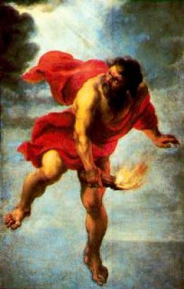 Depiction of Prometheus