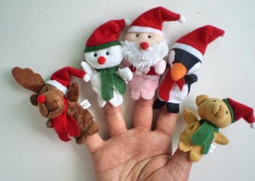 Christmas baby toys