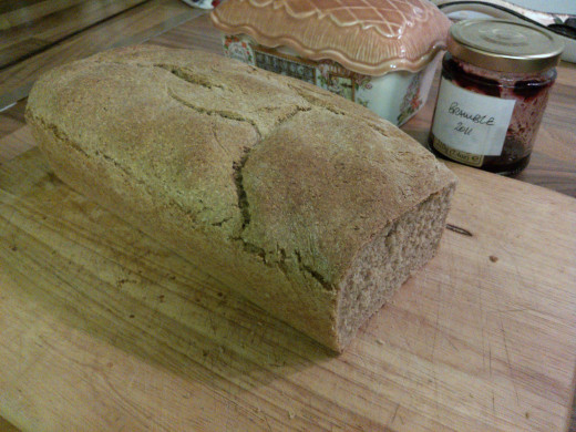 Quick and Easy Light Rye Bread