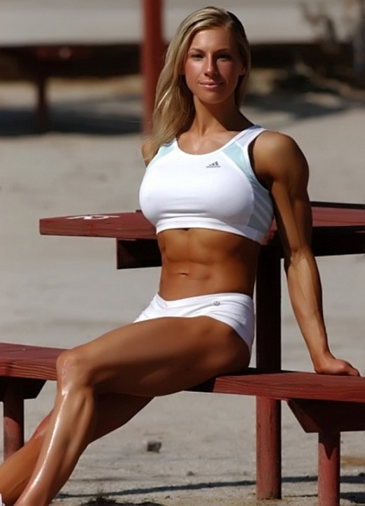 Female Fitness Models and Female Fitness Competitors 6