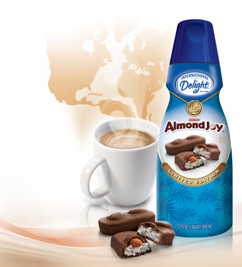 Coffee and Almond Joy - the best combination ever?