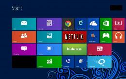 "Press ""Windows"" to view the Start screen."