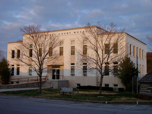 Gainesville, Missouri Courthouse.