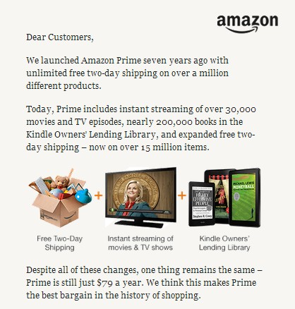 A screenshot of Amazon Prime promo (Source: Amazon.com)
