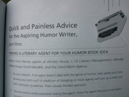 And Here's the Kicker - advice for writers
