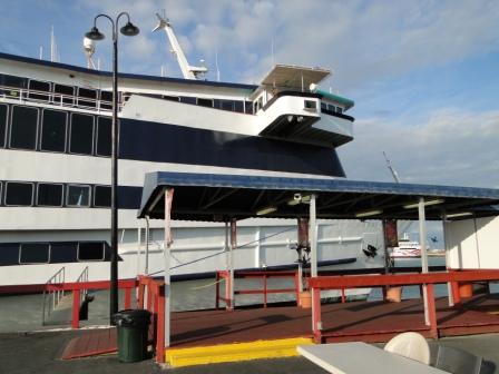 Carnival Dream-at dock in Cape Canaveron