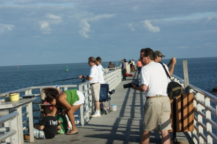 Fishing the Jetty at Jetty Park