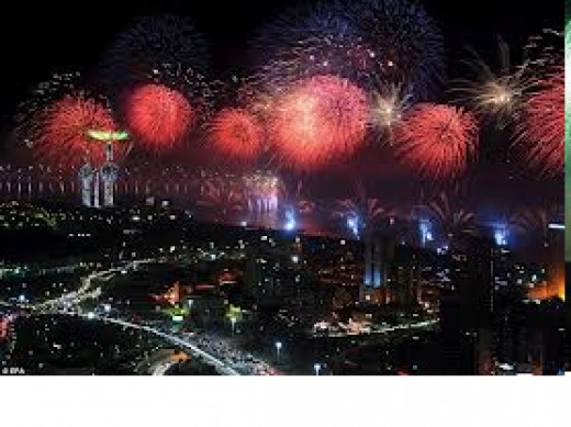 Fire Works Kuwait