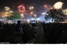 Kuwait Celebrating National Day