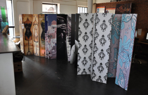 Art Print Room Divider Screens