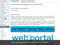 How to create a Private & Secure Client Portal Area, Page Section or Gallery on your Wordpress site with a simple Plugin