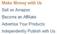 Making money with Amazon (Source: Amazon)