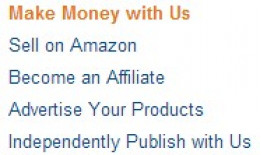 Making money with Amazon (Source: Amazon)