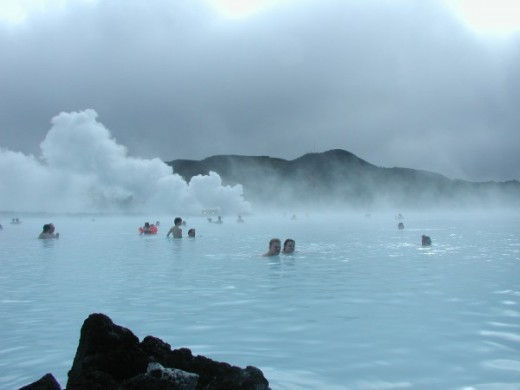 The Blue Lagoon geothermal spa, Iceland