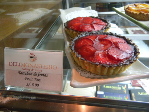strawberry tartlets to die for