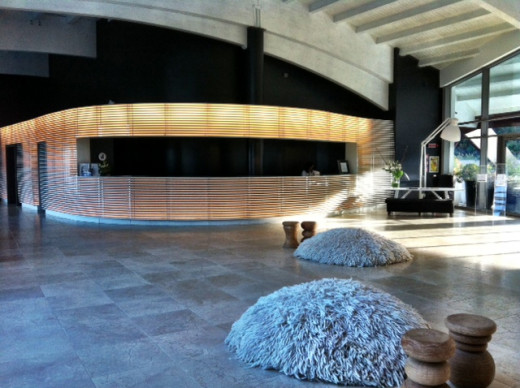 The foyer of the Hotel Argentario
