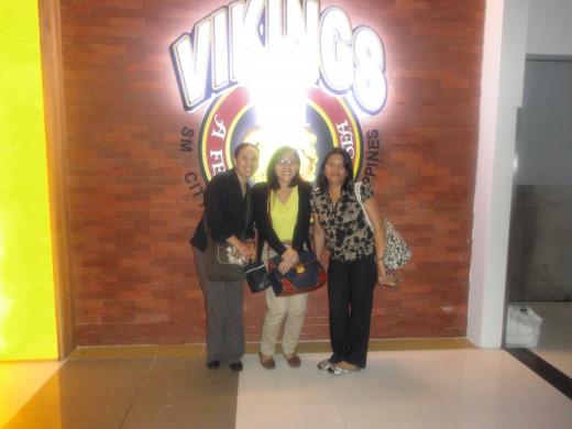 Friends at Vikings
