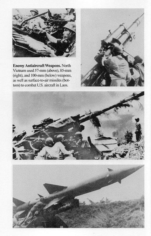 North Vietnamese Air Defense Weaponry