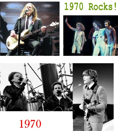 Best Rock Songs of 1970