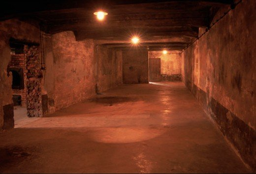 The largest gas chamber at Auschwitz