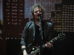 Jason White performing with Green Day at Scotiabank Place in Ottawa, Ontario, Canada