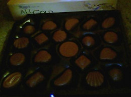 There are two layers of filled chocolates in every box with 20 chocolates in each layer.