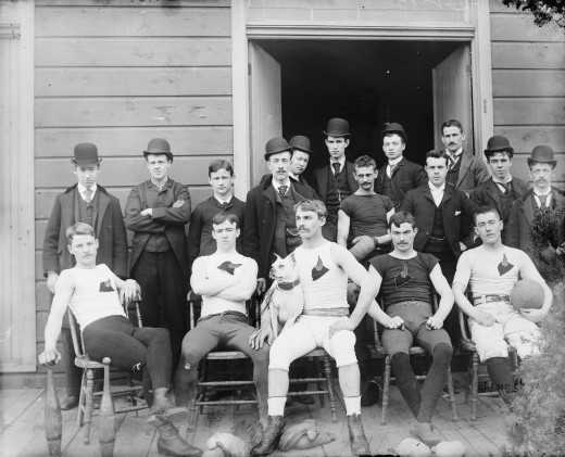 Unknown early football team