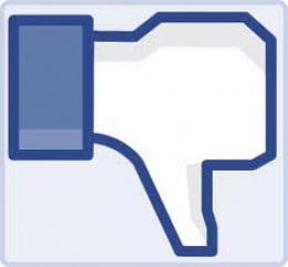 "facebook ""dislike"" button"