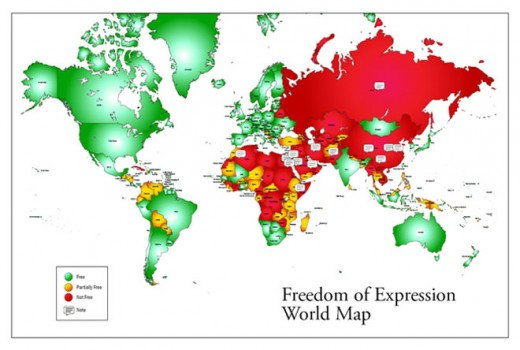 Freedom World Map