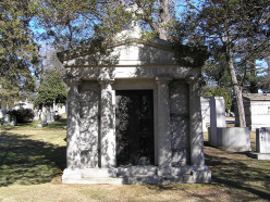 The Mausoleum in Woodlawn Cemetary where Fritz Kreisler is Buried