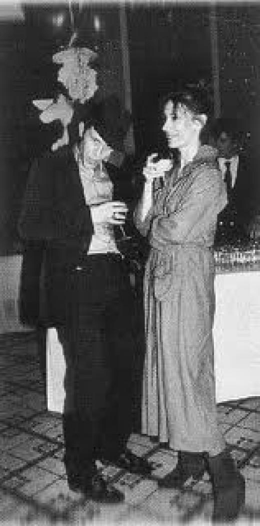 Tom and wife Kathleen Brennan