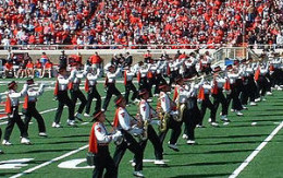 A U.S. college marching band