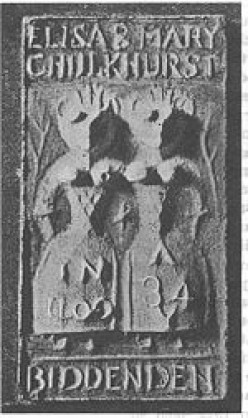 The Biddenden Maids - Famous Siamese Twins from Medieval times