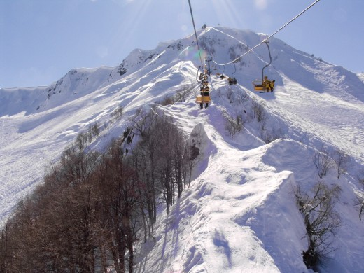 Ski resort of Krasnaya Polyana - City in Russia