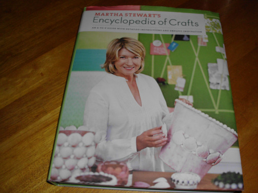 cover of Martha Stewart's Encyclopedia of Crafts