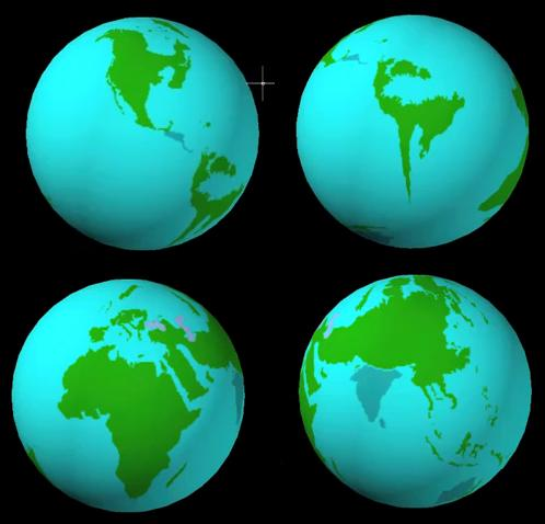 What the Earth could look like after the Polar Shift.