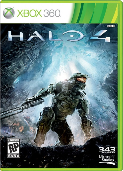 This is the box art for Halo 4. If you haven't seen it yet, I'm amazed.