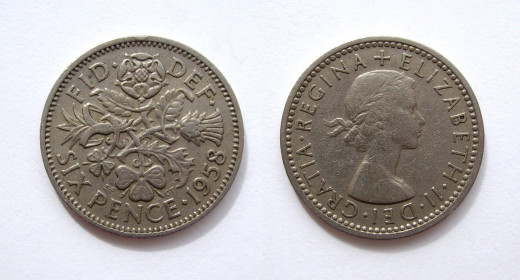 20th century sixpenny pieces