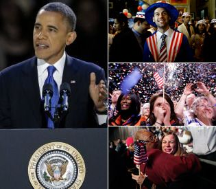 November 2012: Obama Re-Elected second term as the President of the United States of America