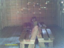 Inside the Beaver Pond Blind