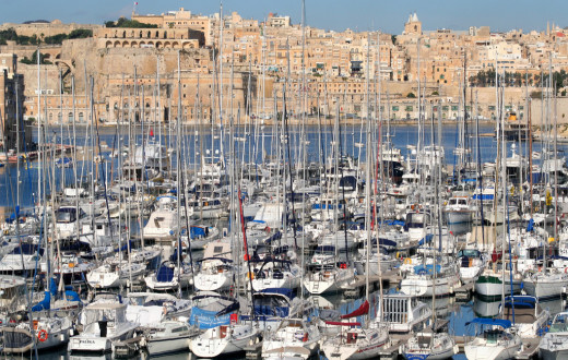Yacht Marina in Malta