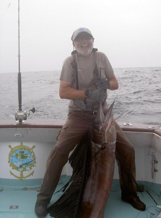 Marlin Fishing Boat
