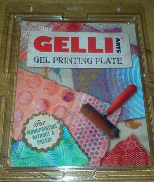 My Gelli Arts Gel Printing Plate arrives.