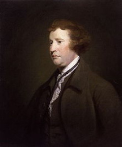 """MEMBER OF THE ENGLISH PARLIAMENT, """"FATHER"""" OF MODERN CONSERVATIVISM AND DEFENDER OF AMERICA'S RIGHT TO SELF-GOVERNMENT BUT NOT INDEPENDENCE"""