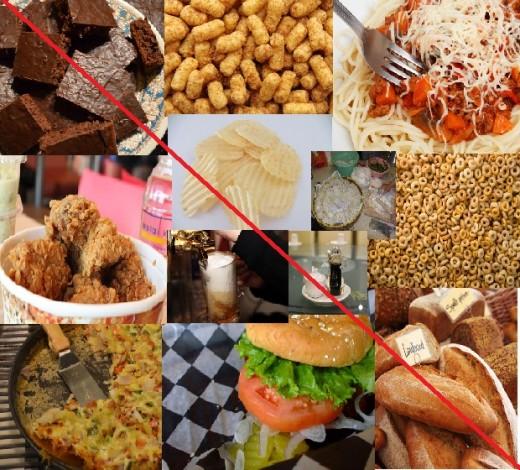 Foods a Celiac cannot eat