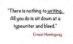 Follow some quotes on writing