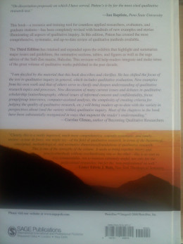 Back cover of Patton text
