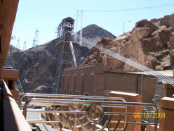 The Hoover Dam Bridge