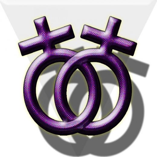 Lesbian symbol